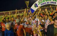 América de Pedrinhas conquista estadual da Série A-2 e vai disputar a primeira divisão em 2020