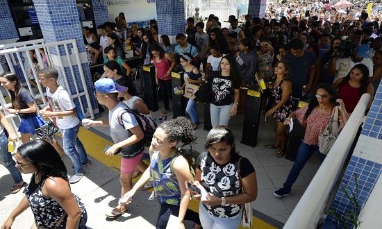 Mais de 78 mil sergipanos são esperados nos dias de prova