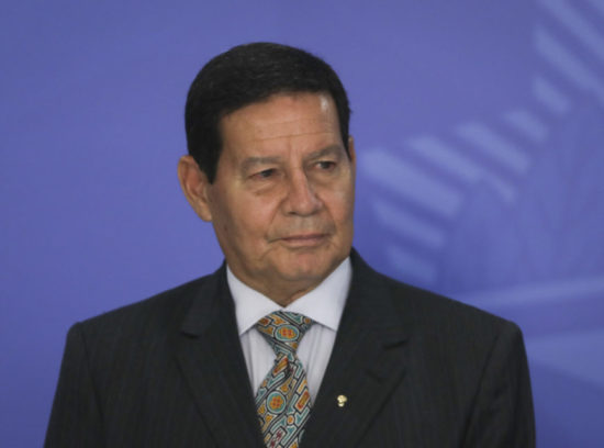 Vice-presidente Hamilton Mourão visita São Cristóvão, nesta sexta-feira, 4.