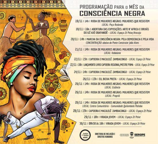 Consciência negra | SEIT realiza programação de conscientização na perspectiva racial de diversos públicos