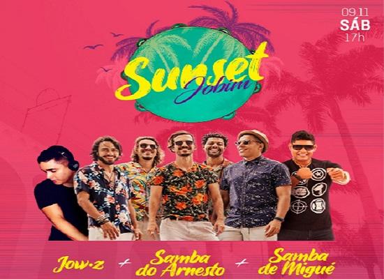 Sunset Jobim acontece neste sábado com Samba do Arnesto