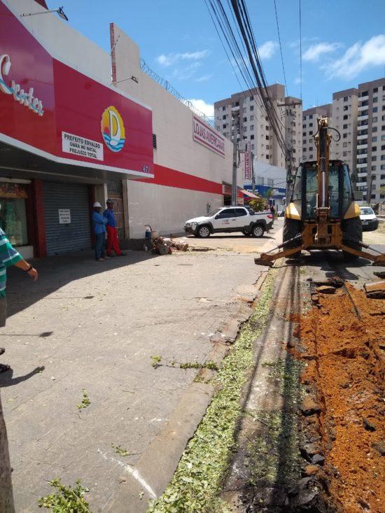Na Bronca: Vendas na Avenida Hermes Fontes caíram 90%, afirmam comerciantes