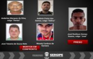 Quatro suspeitos de tráfico de drogas morrem em confronto com a polícia em Porto da Folha, diz Polícia Civil