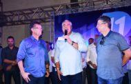 Prefeito Padre Inaldo se filia ao PP em evento realizado em Socorro