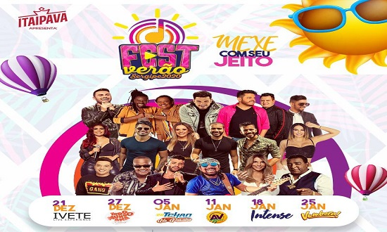 Confira a programação do Fest Verão Sergipe 2020