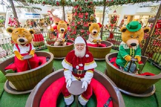 Papai Noel permanece no Shopping RioMar até amanhã, 24