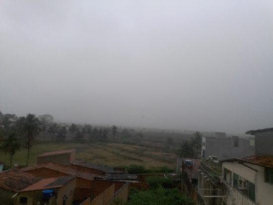 Chuva deixa família desabrigada em povoado de Propriá