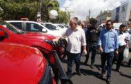 Governador Belivaldo Chagas entrega 49 novas viaturas policiais