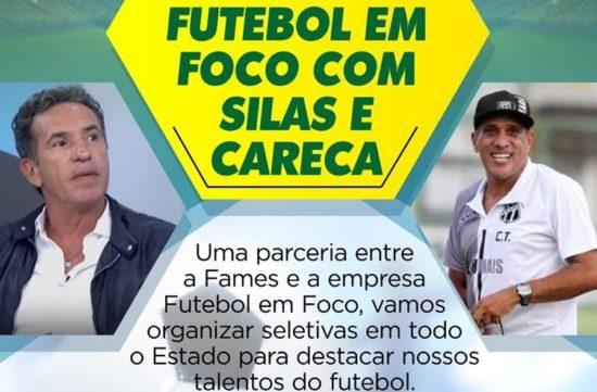 Ex-jogadores Careca e Silas farão workshop em Aracaju nesta quinta, 16