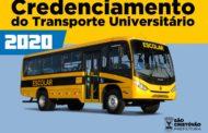 Prefeitura de São Cristóvão abre inscrições para interessados no transporte universitário