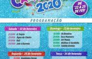 Confira a programação do Carnaval da Praia da Caueira