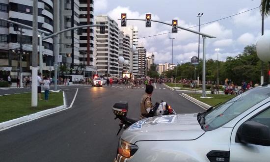 Bloquinhos alteram trânsito em vias da capital neste final de semana