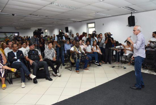 Professor Bittencourt prestigia lançamento da programação comemorativa dos 165 anos de Aracaju