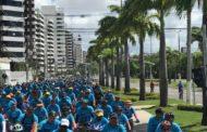 Centenas de pessoas participam de Passeio Ciclístico em homenagem ao aniversário de Aracaju