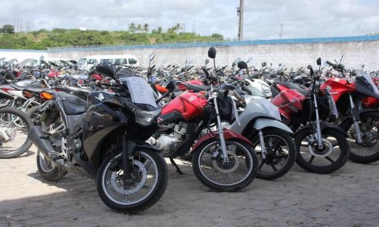 Detran realiza leilão de veículos dias 13 e 14 de março