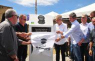 Governo de Sergipe inaugura pavimentação no Povoado Caípe Velho, em São Cristóvão