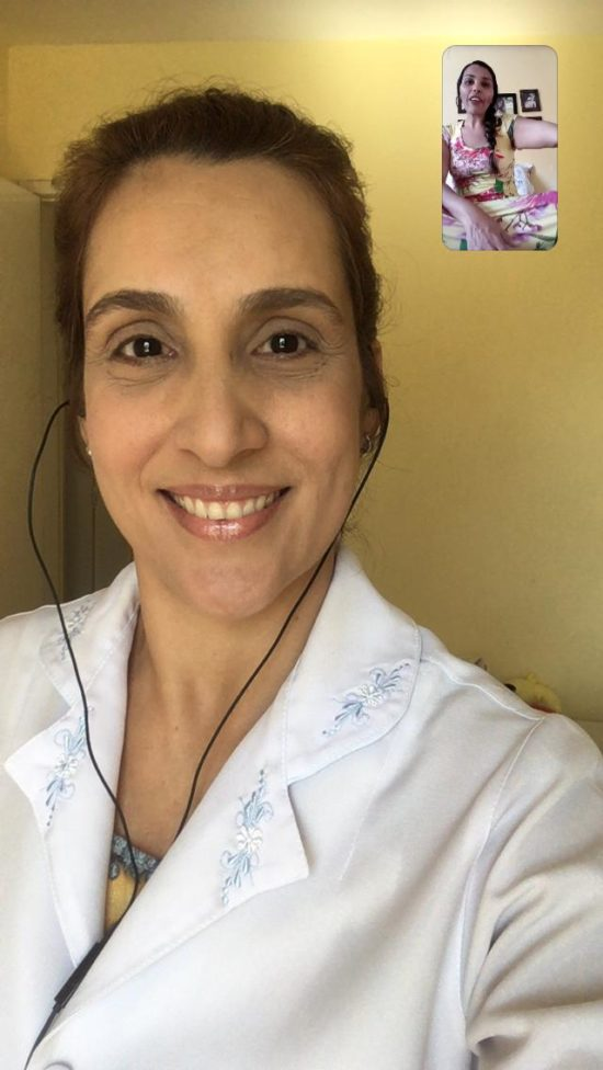 Fisioterapeuta realiza atendimento on-line gratuito para pessoas que tiveram tratamento interrompido devido ao isolamento social