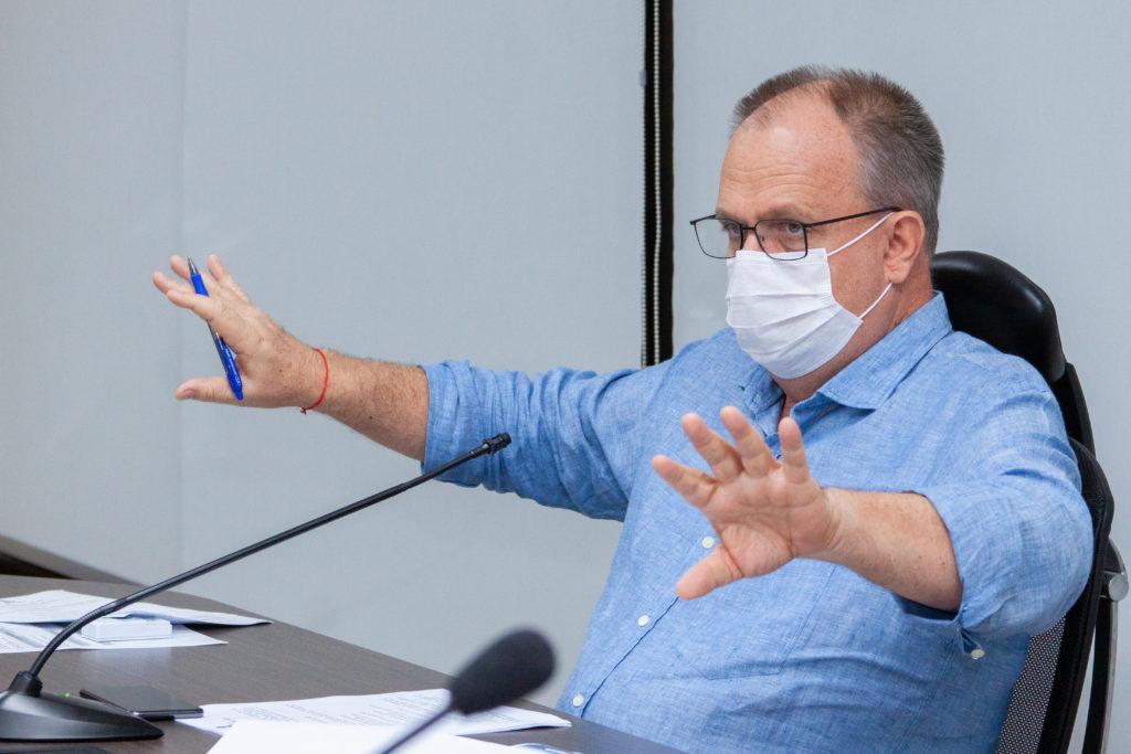 Governador convoca reunião para às 10h  desta quarta-feira, 31 para avaliar o cenário epidemiológico
