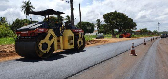 Obras de requalificação da João Bebe Água seguem em ritmo acelerado