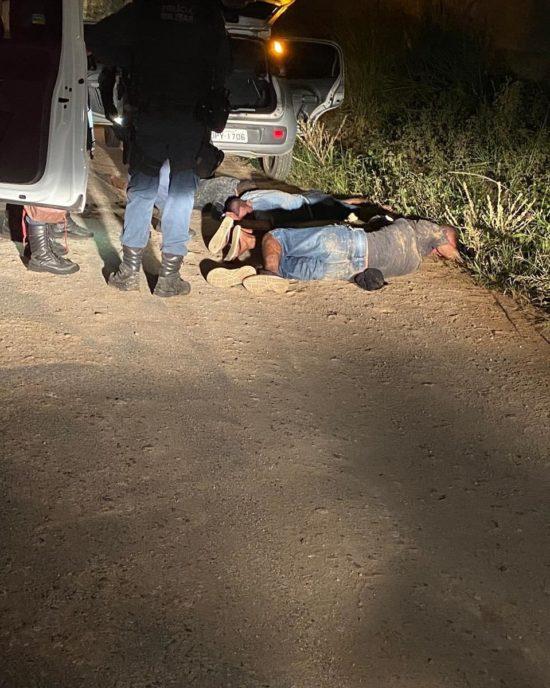 Baianos que integravam quadrilha de roubo nas estradas são presos em Itabaianinha