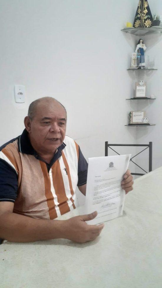 Vereador anuncia doação de 50% do salário para instituições filantrópicas