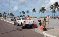 Estacionamentos da Orla da Atalaia, 13 de Julho e Praia Formosa em Aracaju são fechados para evitar aglomerações