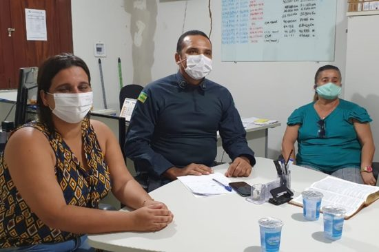 Polícia Militar e Vigilância Sanitária atuam juntas em São Cristóvão no combate ao Coronavírus