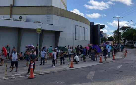 A pedido do MPF, MPT e MP/SE, Justiça Federal obriga Caixa e Estado a encerrar aglomerações e organizar filas em Sergipe