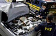 Em Sergipe, PRF apreende 600 quilos de cocaína, avaliada em R$ 10 milhões
