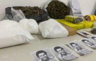 Polícia Civil prende mulher que comercializa drogas com rótulos de Pablo Escobar