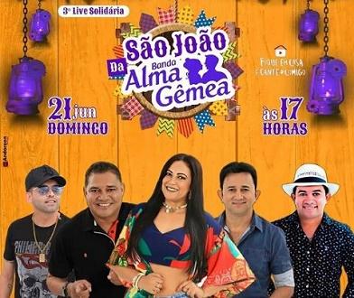 Alma Gêmea fará live com participações especiais