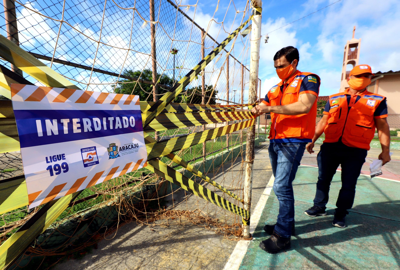 Homem é preso suspeito de tentar entregar celulares utilizando drone em presídio no município de São Cristóvão