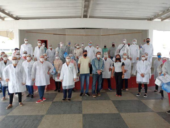 Prefeitura de Canindé recebe UFS para a realização de testes do Covid-19