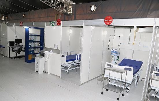 Hospital de Campanha é fiscalizado após recebimento de denúncias