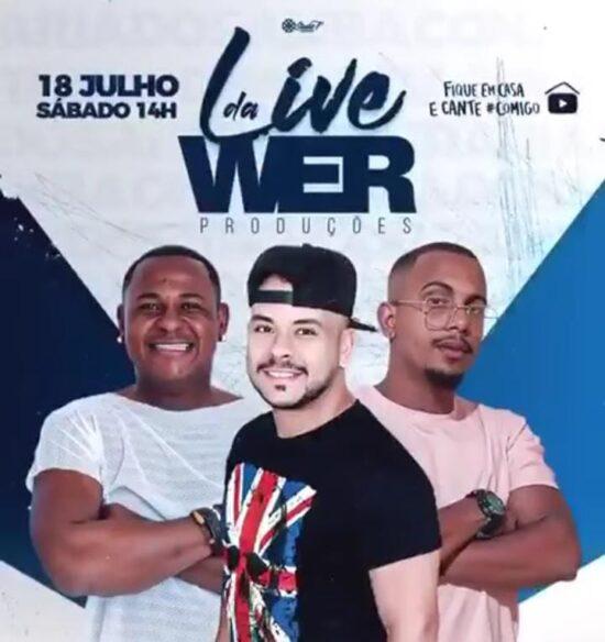 Live da Confraria do Samba acontece dia 18 de julho