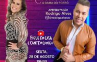 Jornalista Rodrigo Alves apresenta Live da cantora Maraisa