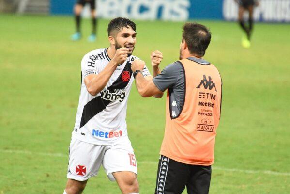 Vasco vence o Ceará e volta à liderança do Brasileiro após oito anos