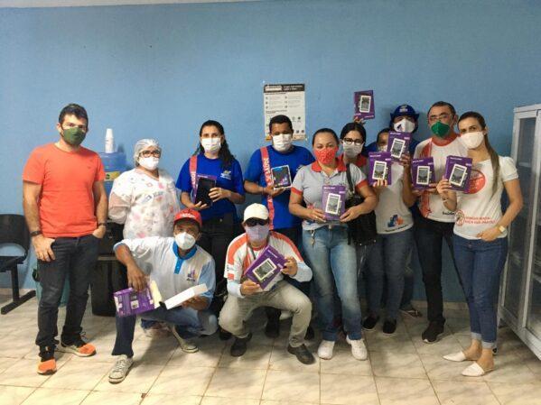 Agentes de saúde recebem tablets para o atendimento domiciliar em Canindé de São Francisco