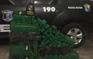 Homem é preso em Itabaiana com 200kg de maconha prensada dentro de malas