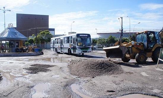 Recuperação do asfalto do Terminal DIA começa nesta segunda-feira, 10