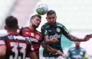 Após imbróglio judicial, Palmeiras e Flamengo empatam; confira a classificação