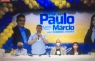 Partido Democracia Cristã formaliza candidatura de Paulo Márcio à Prefeitura de Aracaju