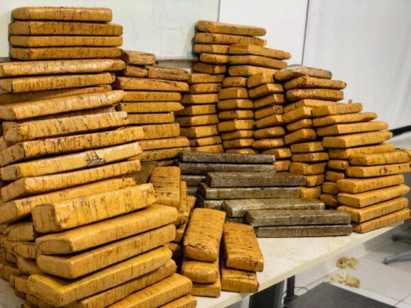 Polícia apreende 175 quilos de maconha em Sergipe