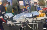 Bombeiros resgatam jovem que estava desaparecida na Serra da Miaba