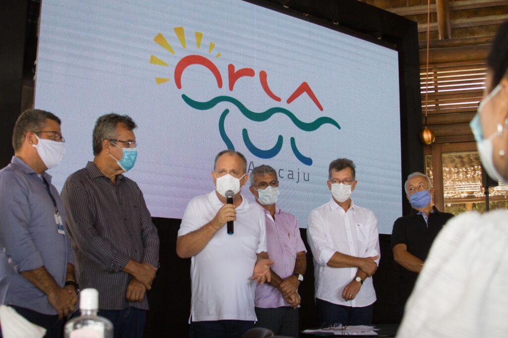 Governador Belivaldo Chagas autoriza novos trechos da Orla Sul em Aracaju
