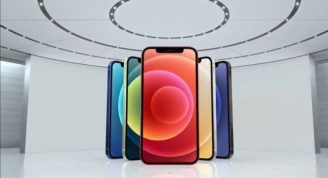 Apple anuncia iPhone 12 em quatro versões, equipadas com 5G e preços que partem de US$ 699; veja fotos