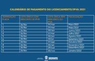 Governo de Sergipe divulga calendário de pagamento do IPVA 2021