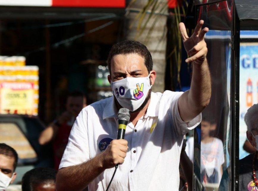 Guilherme Boulos é diagnosticado com Covid; debate na Globo é cancelado