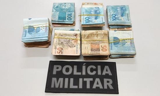 Polícia prende dupla suspeita de compra de votos com mais de R$ 50 mil