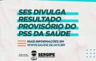 Secretaria de Estado da Saúde divulga lista provisória de classificados do PSS